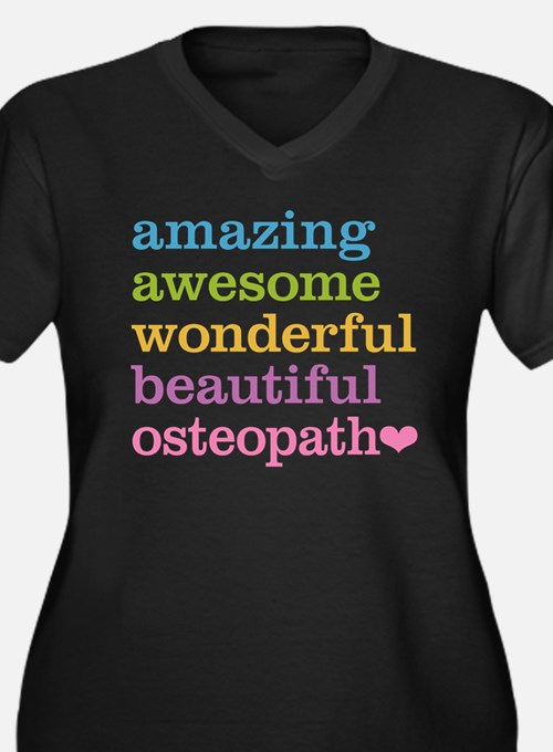 Awesome Osteopath Plus Size T-Shirt