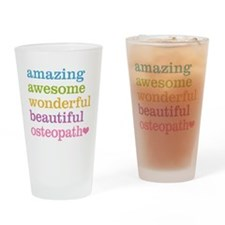 Awesome Osteopath Drinking Glass