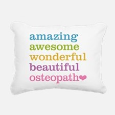 Awesome Osteopath Rectangular Canvas Pillow