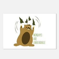 Unbearable Postcards (Package of 8)