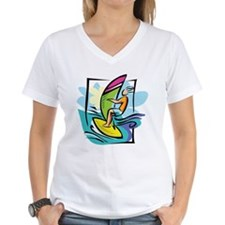 Windsurfing Ash Grey T-Shirt