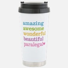 Awesome Paralegal Stainless Steel Travel Mug