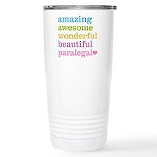 Awesome Paralegal Travel Mug