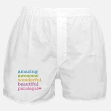 Awesome Paralegal Boxer Shorts