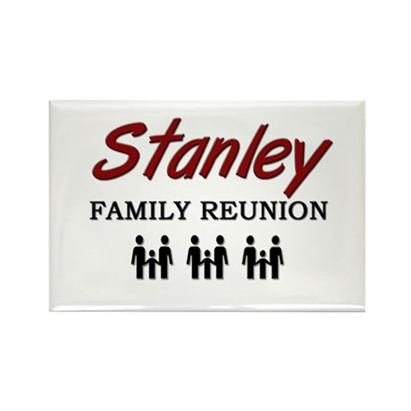 Stanley Family Reunion Rectangle Magnet
