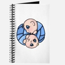 Baby Shower Twin Boys Journal