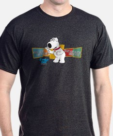 Family Guy Brian Martini T-Shirt