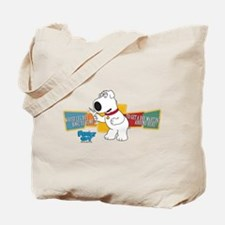 Family Guy Brian Martini Tote Bag