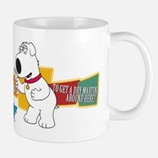 Family Guy Brian Martini Mug