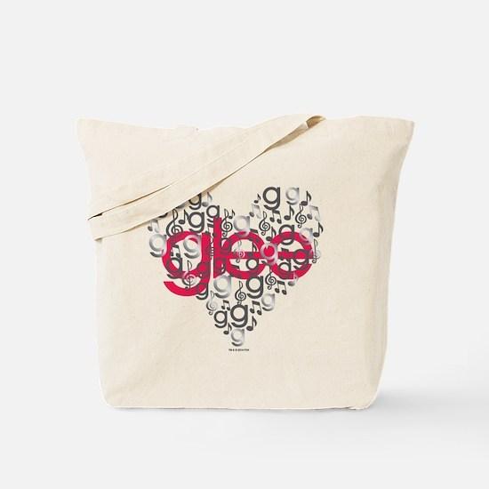 Glee Heart Tote Bag