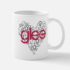 Glee Heart Mug