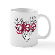 Glee Heart Small Mug