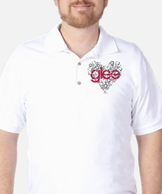Glee Heart T-Shirt