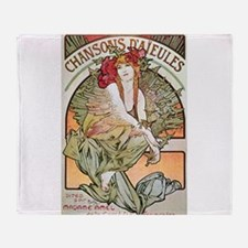 CHANSONS D'AIEULES, C.1898.JPG Throw Blanket