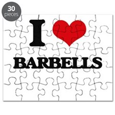 I Love Barbells Puzzle
