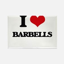 I Love Barbells Magnets