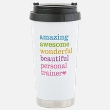 Personal Trainer Stainless Steel Travel Mug