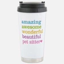 Pet Sitter Stainless Steel Travel Mug