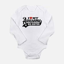 I Love My Awesome Big Long Sleeve Infant Bodysuit