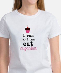 I run so I can EAT Cupcakes T-Shirt
