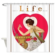 LIFE MAGAZINE, FEB. 16, 1922.JPG Shower Curtain