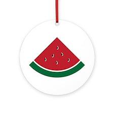 Watermelon Ornament (Round)