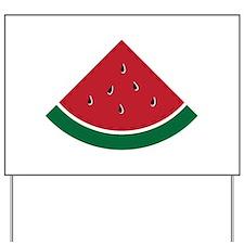 Watermelon Yard Sign
