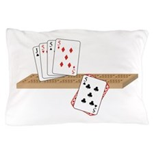 Cribbage Hand Pillow Case
