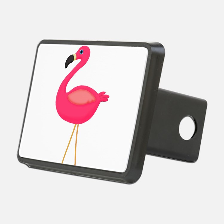 Pink Flamingo 3 Hitch Cover