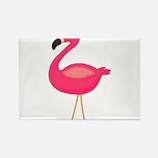 Pink Flamingo 3 Magnets