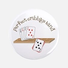 """Perfect Cribbage Hand 3.5"""" Button"""