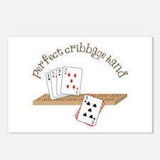 Perfect Cribbage Hand Postcards (Package of 8)