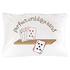 Perfect Cribbage Hand Pillow Case