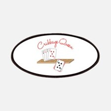 Cribbage Queen Patches