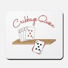 Cribbage Queen Mousepad