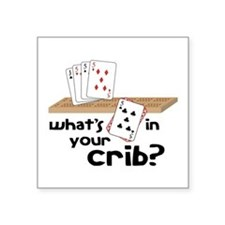 Whats in Your Crib? Sticker