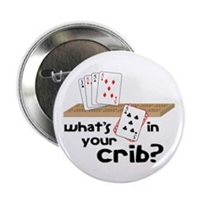 """Whats in Your Crib? 2.25"""" Button (100 pack)"""