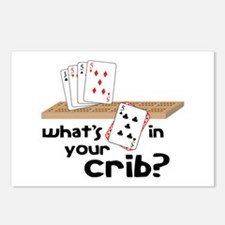 Whats in Your Crib? Postcards (Package of 8)