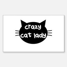 Crazy Cat Lady Bumper Stickers