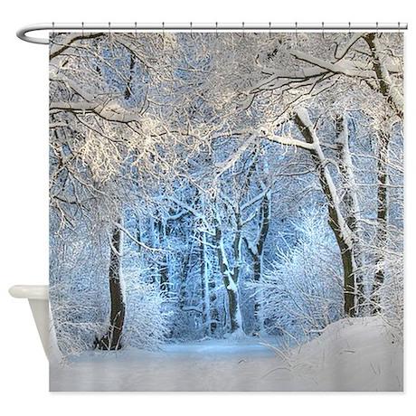 Another Winter Wonderland Shower Curtain