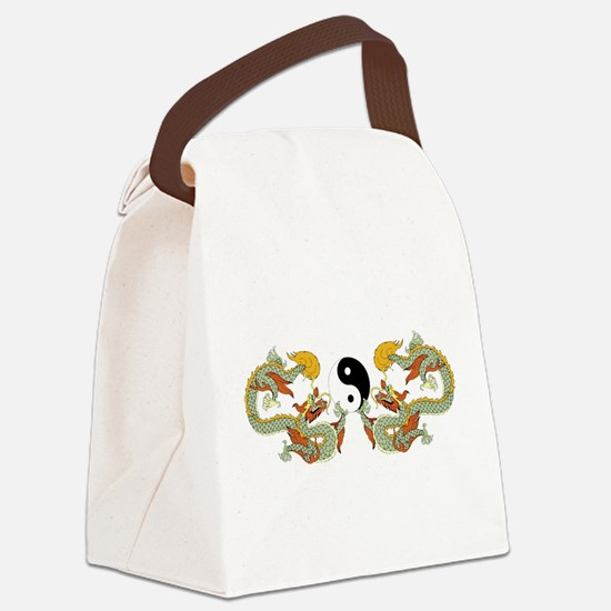 10xyingyangdragons.png Canvas Lunch Bag