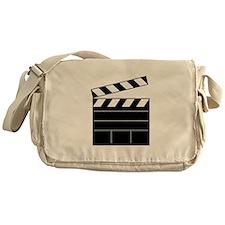 Lights Camera Action Messenger Bag
