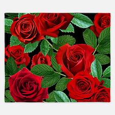 Red Roses King Duvet