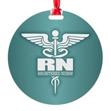 Caduceus RN (g) Ornament
