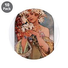 """FLOWER_1897.JPG 3.5"""" Button (10 pack)"""