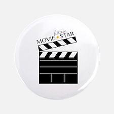 """Future Movie Star 3.5"""" Button"""
