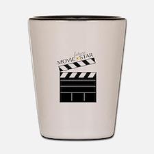 Future Movie Star Shot Glass