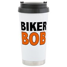 Cute Baby grandpa motorcycle Travel Mug
