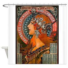 SAVONNERIE DE BAGNOLET, 1897.JPG Shower Curtain