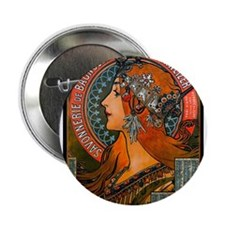 """SAVONNERIE DE BAGNOLET, 18 2.25"""" Button (100 pack)"""